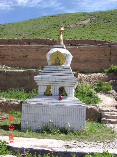 Kudung Stupa of Pälden Khyentse Öser